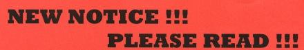 New notice