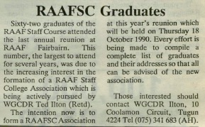 RAAF NEWS MARCH 1990